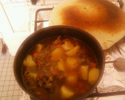 le plat que j ai prepare hier soir un pot au feu marocain cooking